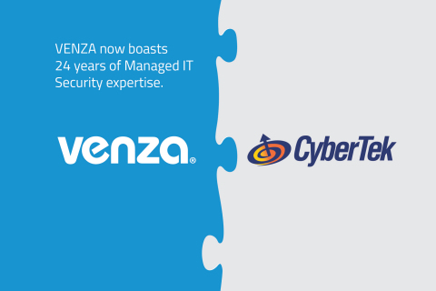 VENZA Acquires CyberTek to Deliver Holistic Cybersecurity and Managed IT Services.