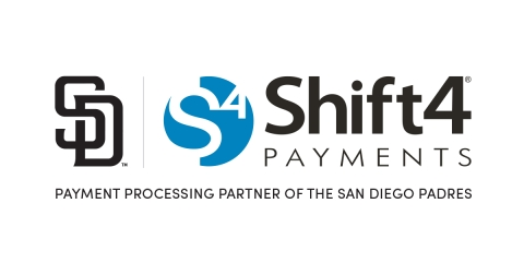 Shift4 Payments Named the Payment Processing Partner of the San Diego Padres (Graphic: Business Wire)