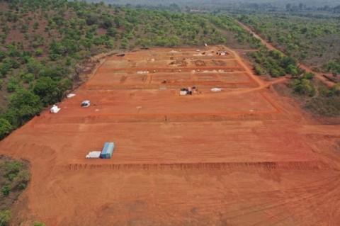 Figure 1. Séguéla Camp Earthworks