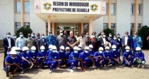 Figure 3. Local Graduates of Roxgold Training Program in Worodougou Region, Séguéla