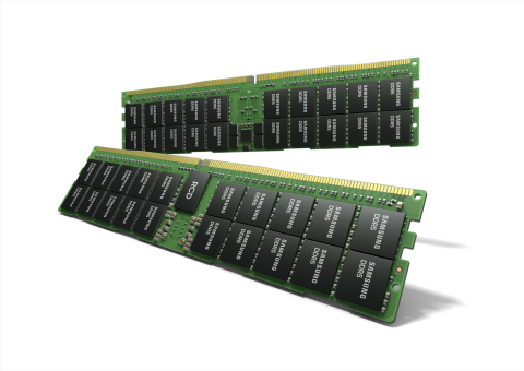 Samsung Develops Industry's First HKMG-Based DDR5 Memory; Ideal for Bandwidth-Intensive Advanced Computing Applications (Graphic: Business Wire)
