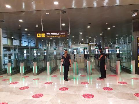 Portes ABC à l'aéroport de Valence (Photo : Thales)
