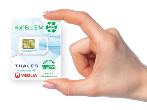 ©Thales – eco-SIM card
