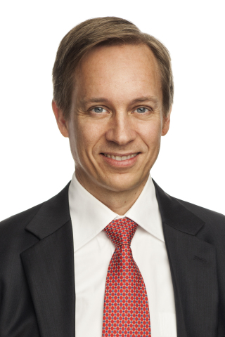 Mikael Hagstroem, newly-appointed Chief Executive Officer of LabVantage Solutions. (Photo: Business Wire)