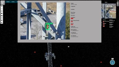 Führen Sie eine automatisierte Inspektion der Infrastruktur durch, einschließlich einer automatisierten Bewertung des Zustands der Anlage. (Photo: Business Wire)