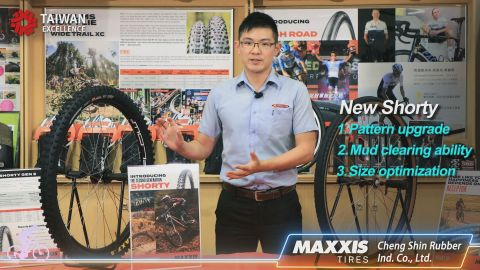 MAXXIS, one of the top 10 tire brands in the world, introduced its latest gravel tire, Receptor, and new generation MTB tire, Shorty Gen 2