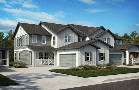 KB Home announces the grand opening of Azure Villas at The Meadows, a new-home community in a premier Castle Rock, Colorado master plan. (Photo: Business Wire)