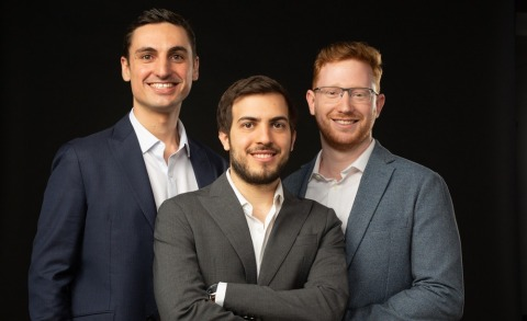 Razor Labs Founding team: Raz Roditi - CEO; Michael Zolotov - CTO, and Ido Rozenberg - VP R&D. Photo credit: Nir Slakman (for Forbes Israel)