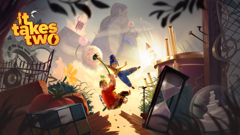 It Takes Two, available now on PlayStation 4, Xbox One, PlayStation 5, Xbox Series X S and PC via Origin and Steam (Graphic: Business Wire)
