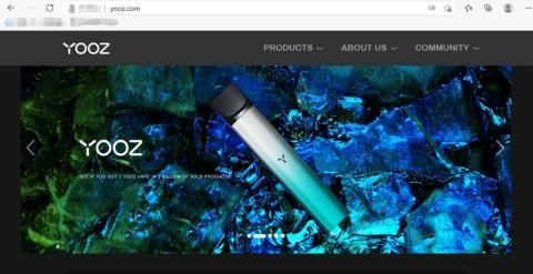 China's most popular e-cigarette brand YOOZ Philippine store will be completed with its global official website (Photo: Business Wire)