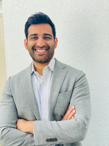 Bilal Khan joins Happify Health as CFO. (Photo: Business Wire)