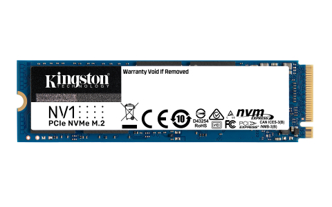 NV1 - Kingston's entry-level NVMe PCIe SSD (Photo: Business Wire)