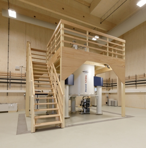 Avance 1.2 GHz NMR system at FZ Juelich, accepted in early 2021 (Photo: Business Wire)
