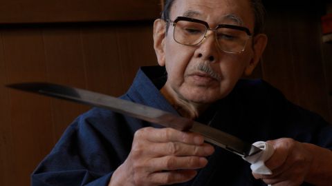 HON'AMI Koshu (Polishing Japanese swords) (Photo: Business Wire)
