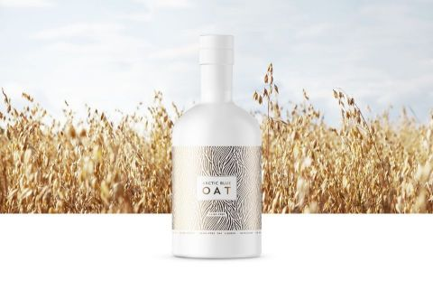 Arctic Blue Beverages Oy, the manufacturer of Arctic Blue Gin is launching the world's first gin-based oat liqueur. Arctic Blue Oat is vegan and gluten-free, made from organic Finnish oats. (Photo: Business Wire)