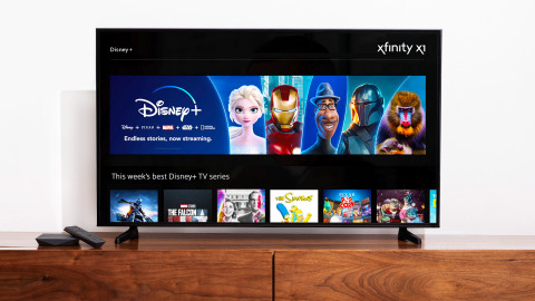 Comcast Launches Disney+ and ESPN+ on Xfinity (Photo: Business Wire)