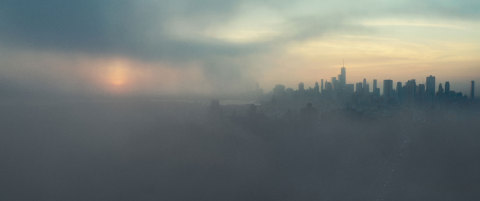 New York, NY - New York City at dusk. (Credit: National Geographic)