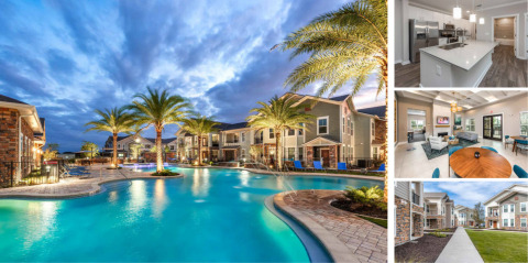 The 250-unit 'Verso' luxury apartment development in Davenport, Florida. (Photo: Business Wire)