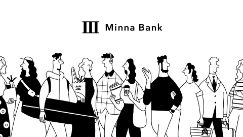 Brand image of Minna Bank (Graphic: Business Wire)