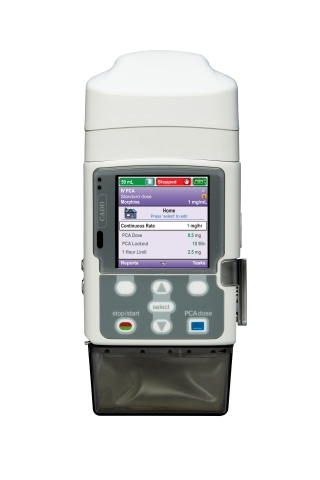 CADD®-Solis v4 with wireless communications Patient-Controlled Analgesic (PCA) and epidural infusion pump. (Photo: Business Wire)