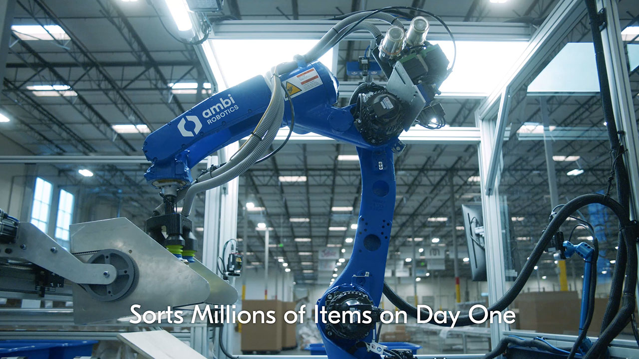 Ambi Robotics offers advanced AI-powered robotic systems designed to scale with operations. Ambi Robotics' hardware-software codesign opens up new possibilities in robotic dexterity to handle increasing demand in the supply chain.