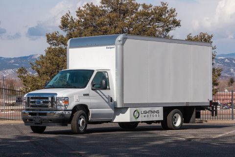 Lightning eMotors' electric vehicles will be used by XPO Logistics and NAL Group in their support of IKEA Retail U.S. last-mile delivery efforts. (Photo: Business Wire)