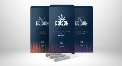 new Edison pre-rolls (Photo: Business Wire)