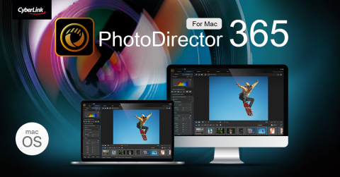 CyberLink Releases Significant Updates to its Director Family, Including the New PhotoDirector 365 for macOS with Shutterstock Integration for Royalty-Free Premium Content (Photo: Business Wire)