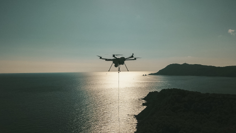 ORION 2 Tethered drone for defense (Photo: Elistair)