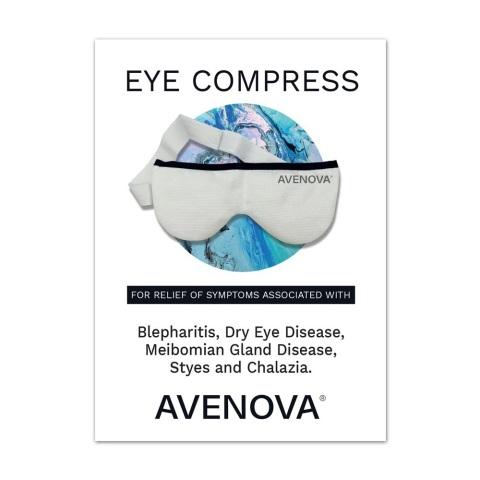Avenova Warm Eye Compress (Graphic: Business Wire)