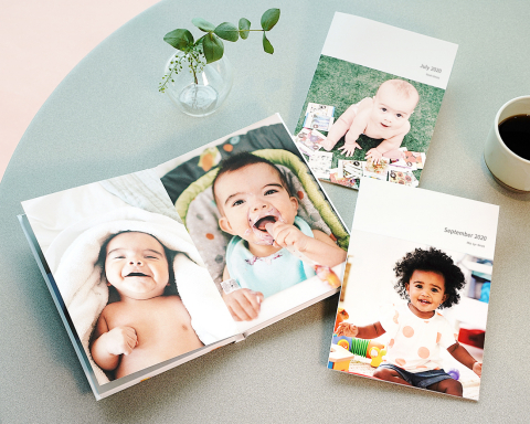 All Hardcover and Premium Softcover Photobooks are 20% off through April 18. (Photo: Business Wire)