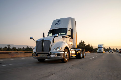 Plus's Autonomous Truck Powered by PlusDrive (Photo: Business Wire)