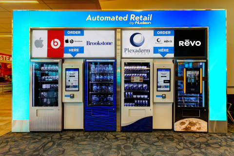Automated Retail by Hudson at Myrtle Beach International Airport (Photo: Business Wire)