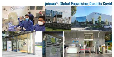 joimax® Celebrates 20th Anniversary, Expands Education Program (Photo: Business Wire)