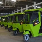 GMW SmartAutos Electric tuktuks