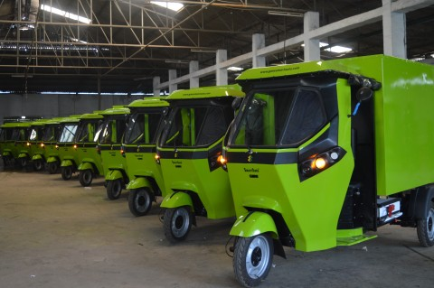 GMW SmartAuto- Most Advanced Electric threewheeler (Photo: Business Wire)