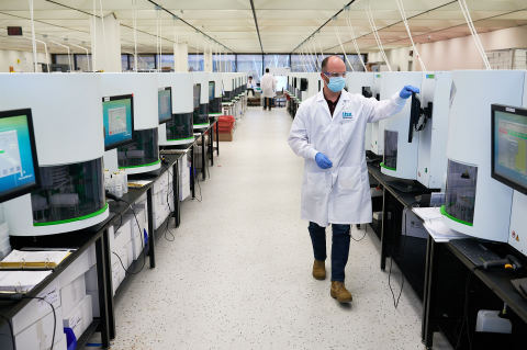 IBX DNA/RNA Extraction Lab (Photo: Business Wire)