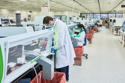 IBX Automated Liquid Handling / Sample Processing Lab (Photo: Business Wire)