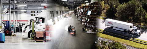 Ryder System, Inc. is a leading logistics and transportation company that provides supply chain, dedicated transportation, and fleet management solutions to some of the world's most-recognized brands. (Photo: Business Wire)