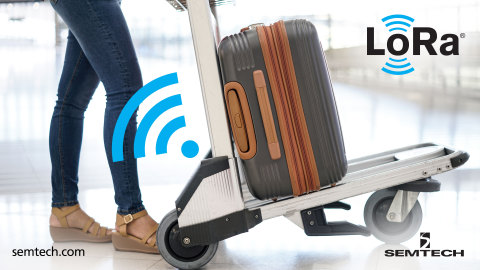 Semtech's and DevAppSol Track Luggage Trolleys to Reduce Airport Management Cost With LoRaWAN® (Photo: Business Wire)