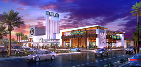 Rendering of a renovated Huntridge Theater (Graphic: Business Wire)