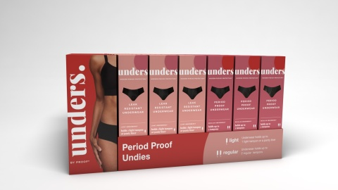 Unders by Proof® Launches in Target Stores Nationwide (Photo: Business Wire)
