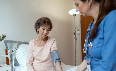 Automating vitals documentation gives nurses more time for direct patient care. (Photo: Business Wire)