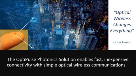 Optical Wireless Infrastructure reduces microwaves and costs while increasing performance and saving energy (Graphic: Business Wire)