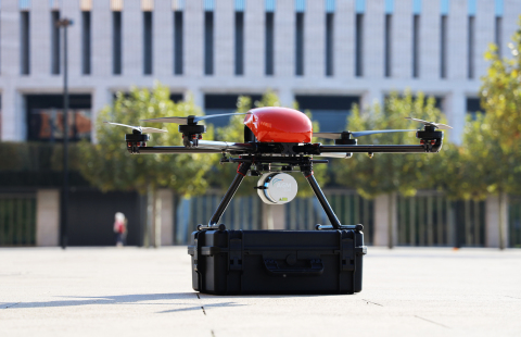 AGM Systems will utilize Velodyne's Ultra Puck lidar sensor in their new AGM-MS3 Unmanned Aerial Vehicle (UAV) mapping solution. This solution is their second generation of one of the most popular UAV lidar scanning technologies for mapping in Russia. (Photo: AGM Systems)
