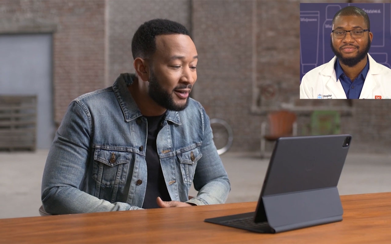 John Legend and Walgreens pharmacist Stephen Fadowole sit down to talk about how the COVID-19 vaccine is our best opportunity to get everyone back together and to what matters most.