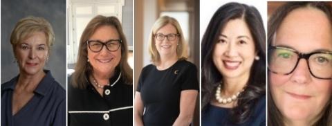 Left to right: Paula Mogan, Sandra Manzella, Camille Valentine, Jessica Guo, Jessica Anderson (Photo: Business Wire)