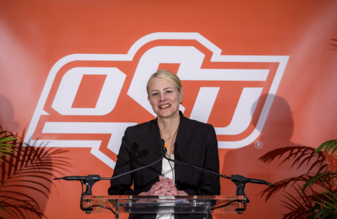 Dr. Shrum will officially take over the role of Oklahoma State University president on July 1. (Photo: Business Wire)