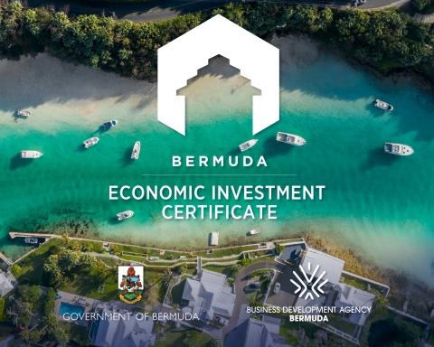 Bermuda Economic Investment Certificate (Graphic: Business Wire)