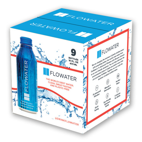 FloWater in Aluminum Bottles (Photo: Business Wire)